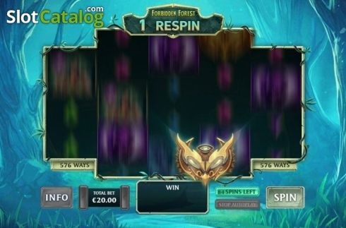 Respin Feature 1. Kingdoms Rise: Forbidden Forest (Video Slot from Playtech Origins)
