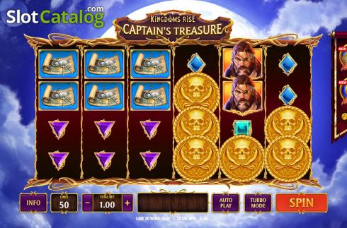 Spiele Kingdoms Rise: CaptainS Treasure - Video Slots Online