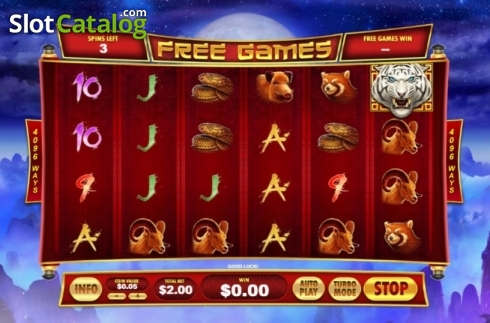 Free Spins. Tiger Claw (Playtech) (Video Slot from Playtech)