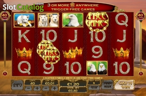 Free Spins. White King 2 (Video Slot from Playtech)