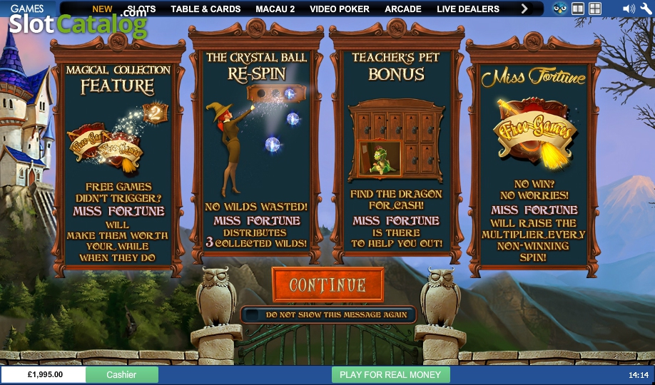 Play Miss Fortune slots at Casino.com South Africa