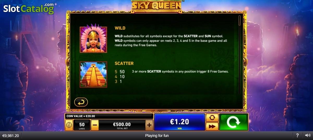 Spiele Sky Queen - Video Slots Online