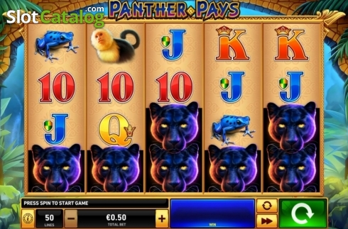 Reel Screen. Panther Pays (Video Slots from Playtech)