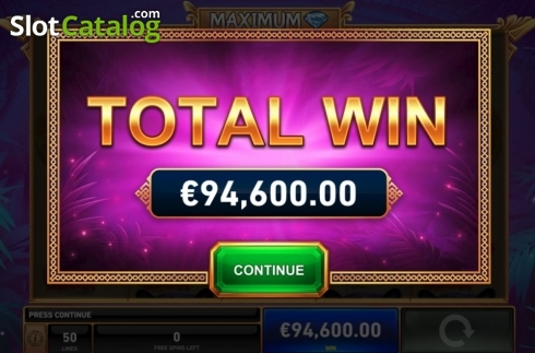 Total Win. Panther Pays (Video Slots from Playtech)