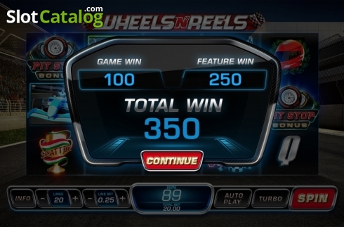 Free Spins Win 1. Wheels N' Reels (Video Slots from Playtech)