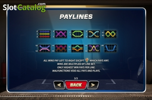 Lines. Wheels N' Reels (Video Slots from Playtech)
