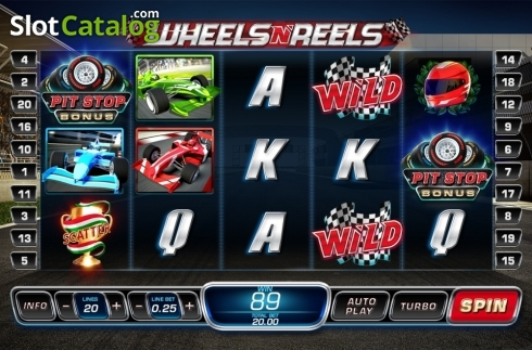 Reel screen 3. Wheels N' Reels (Video Slots from Playtech)