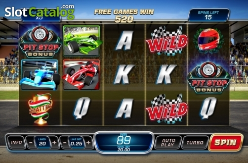 Free Spins. Wheels N' Reels (Video Slots from Playtech)