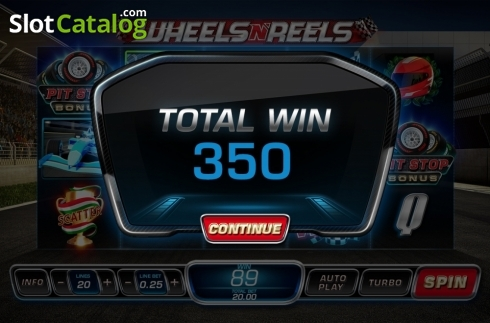 Free Spins Win 2. Wheels N' Reels (Video Slots from Playtech)
