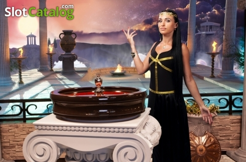 Game Screen 1. Age of the Gods Roulette Live (Live Casino from Playtech)