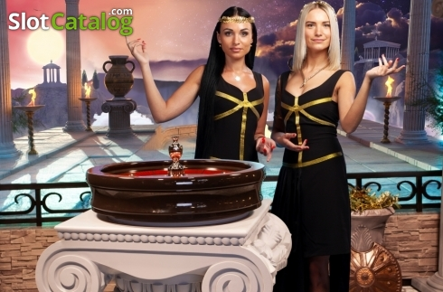 Game Screen 3. Age of the Gods Roulette Live (Live Casino from Playtech)