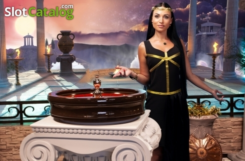 Game Screen 4. Age of the Gods Roulette Live (Live Casino from Playtech)