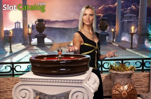 Game Screen 5. Age of the Gods Roulette Live (Live Casino from Playtech)