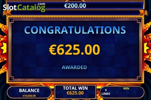 Total Win. Lucky U (Video Slot from Playtech)