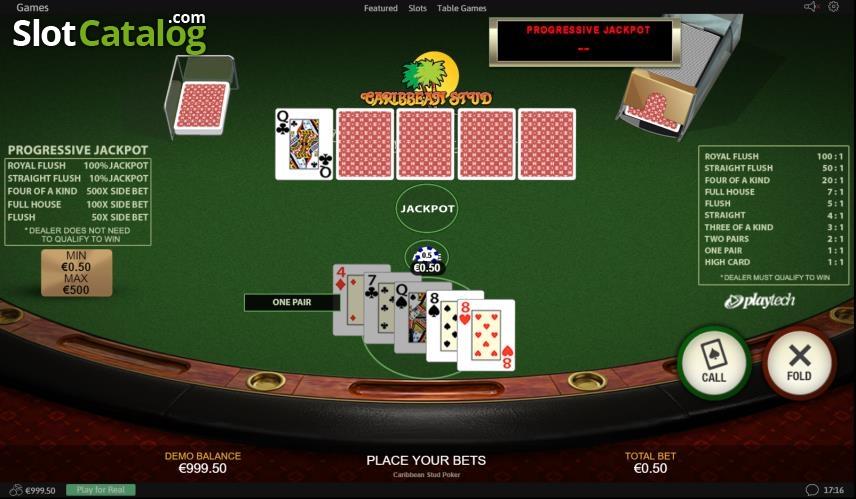 Spiele Caribbean Stud Poker - Video Slots Online