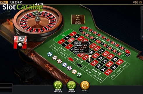 Game workflow. Premium European Roulette (Playtech) (Roulete from Playtech)