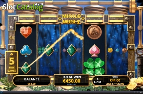 Free Spins 5. Minted Money (Video Slot from Playtech)