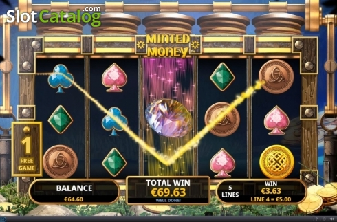 Free Spins 6. Minted Money (Video Slot from Playtech)