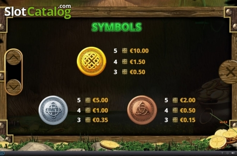 Paytable 1. Minted Money (Video Slot from Playtech)