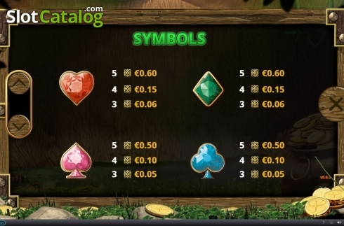 Paytable 2. Minted Money (Video Slot from Playtech)