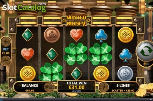 Free Spins 1. Minted Money (Video Slot from Playtech)