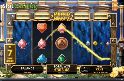 Free Spins 3. Minted Money (Video Slot from Playtech)