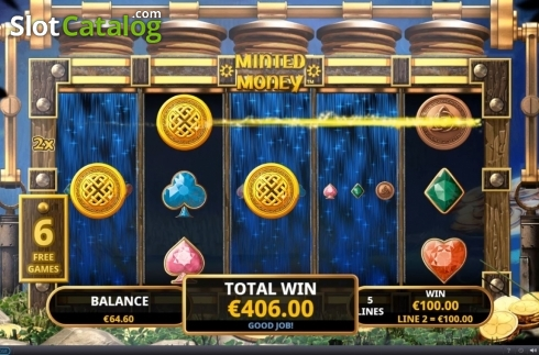 Free Spins 4. Minted Money (Video Slot from Playtech)