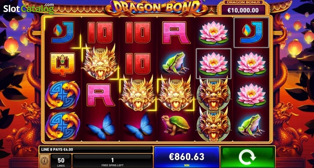 Dragon Bond Slot Review, Bonus Codes & where to play from United Kingdom