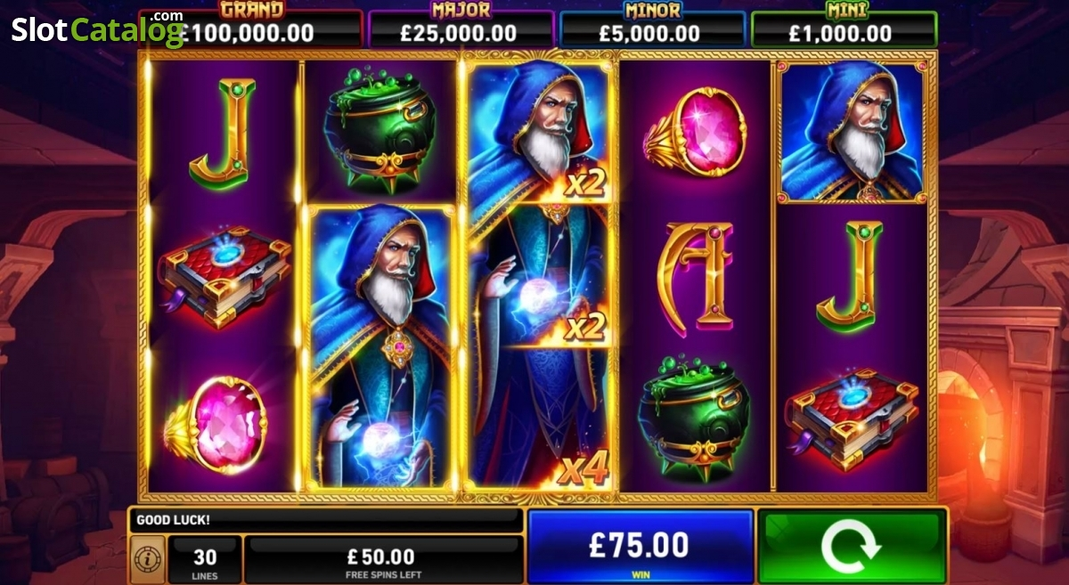 Spiele Blue Wizard - Video Slots Online