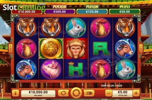 Reel Screen. Golden Macaque (Video Slots from Rarestone Gaming)