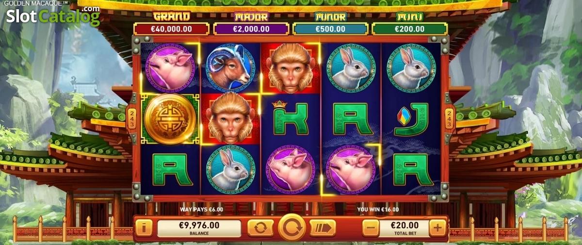 Spiele Golden Macaque - Video Slots Online