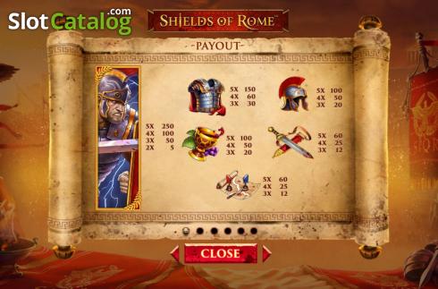 Spiele Shields Of Rome - Video Slots Online