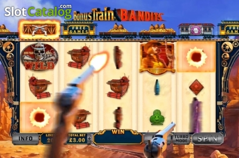 Feature. Bonus Train Bandits (Video Slot from Ash Gaming)