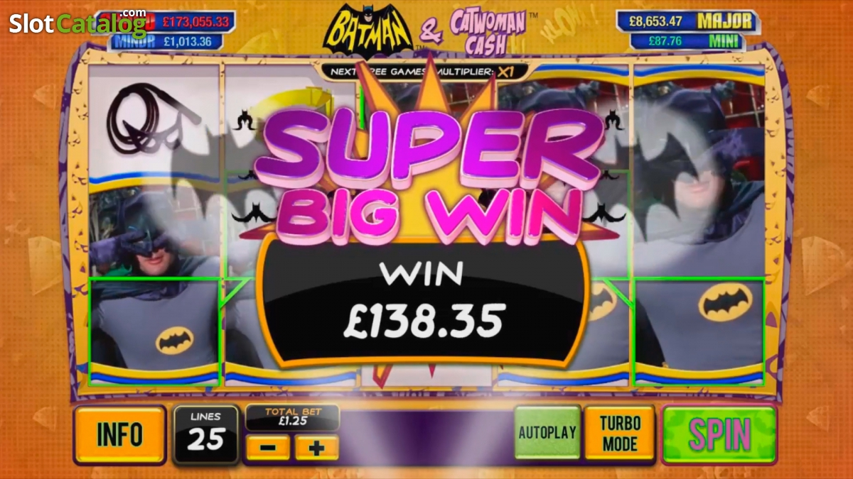 Batman & Catwoman Cash slots at Casino.com New Zealand
