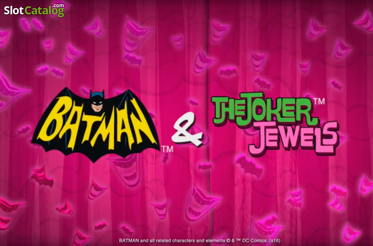 Play Batman and the Joker Jewels slot at Casino.com New Zealand