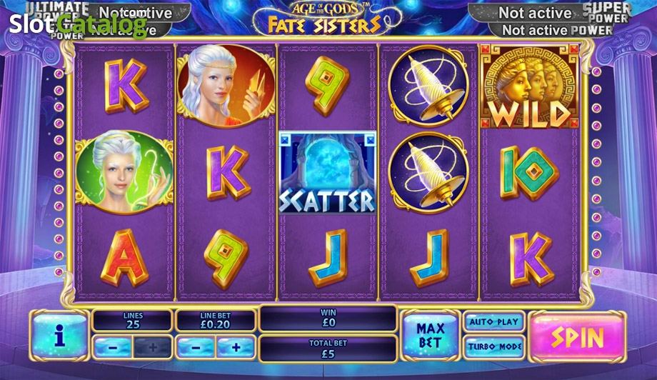 Spiele Age Of The Gods: Fate Sisters - Video Slots Online