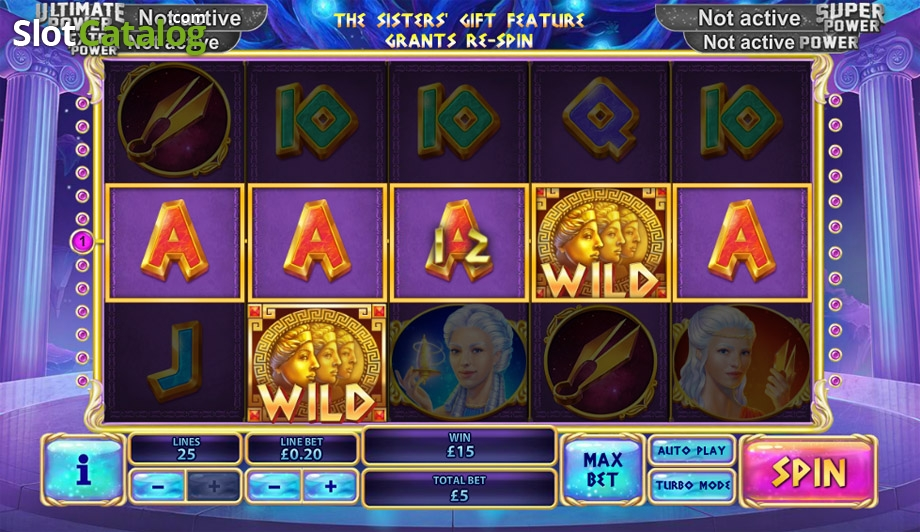Play Age of the Gods: Fate Sisters slots at Casino.com New Zealand