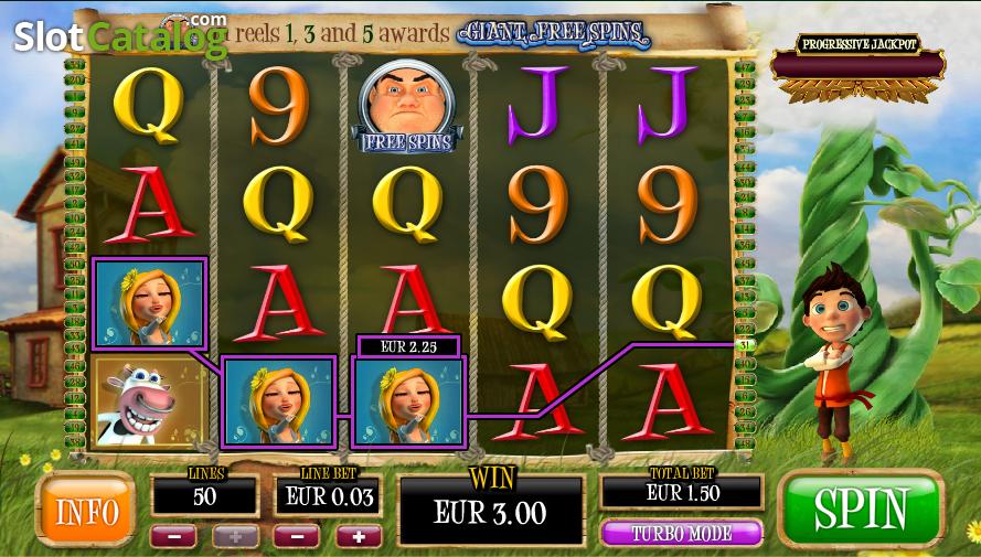 Bounty of the beanstalk slot machine online playtech ufc