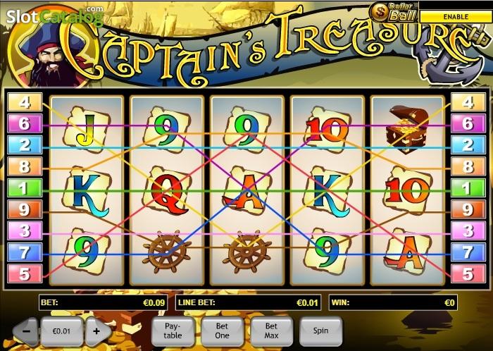 Play attendant captains treasure slot machine online playtech cheat