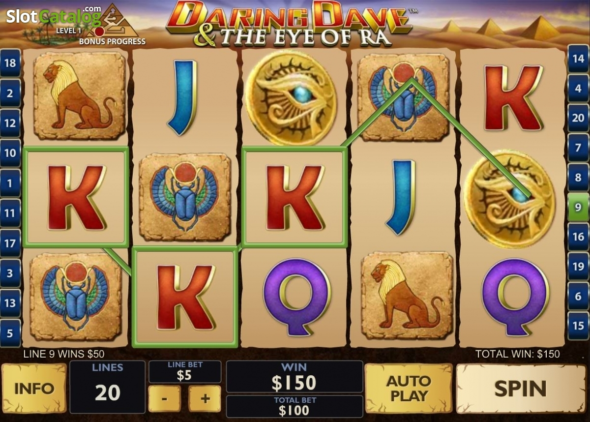 Spiele Daring Dave And The Eye Of Ra - Video Slots Online
