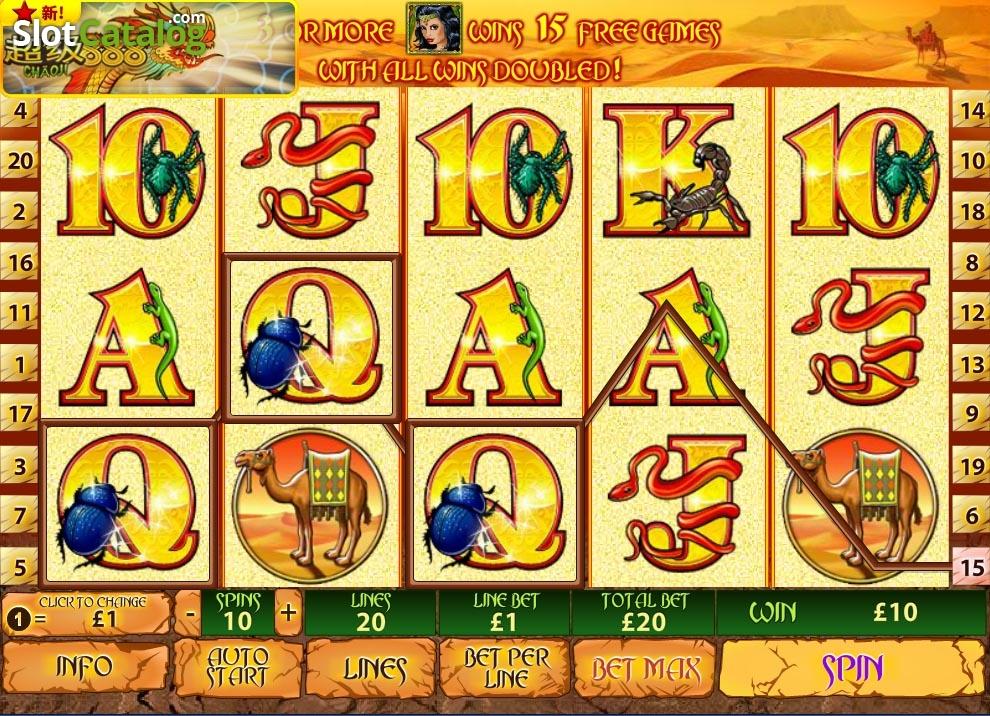 Spiele Desert Treasure - Video Slots Online