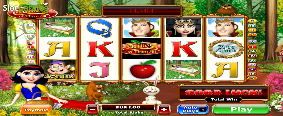 Play Fairest of Them All Slot at Casino.com UK