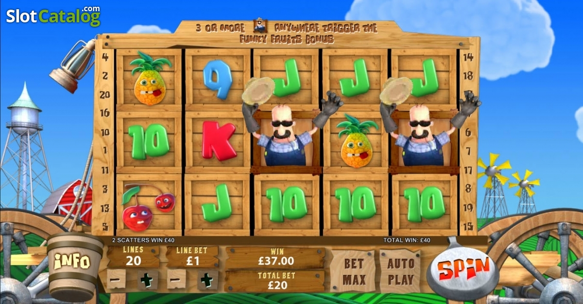 Spiele Funky Fruits Farm - Video Slots Online