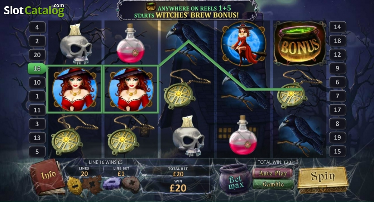 halloween fortune video slot from playtech
