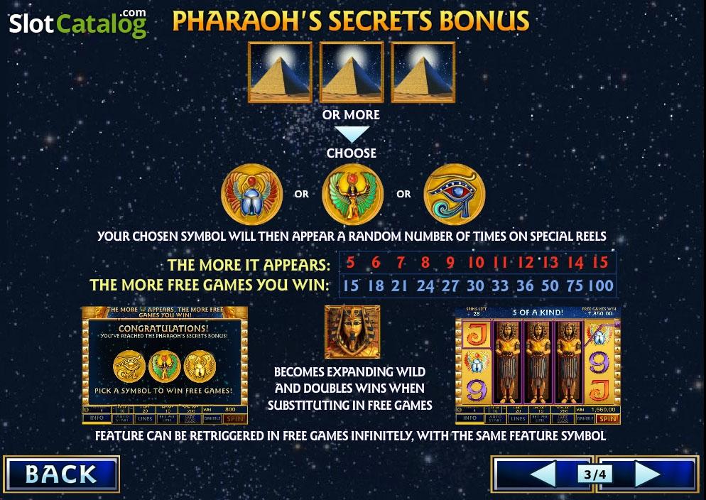 Slots pharaohs way секреты