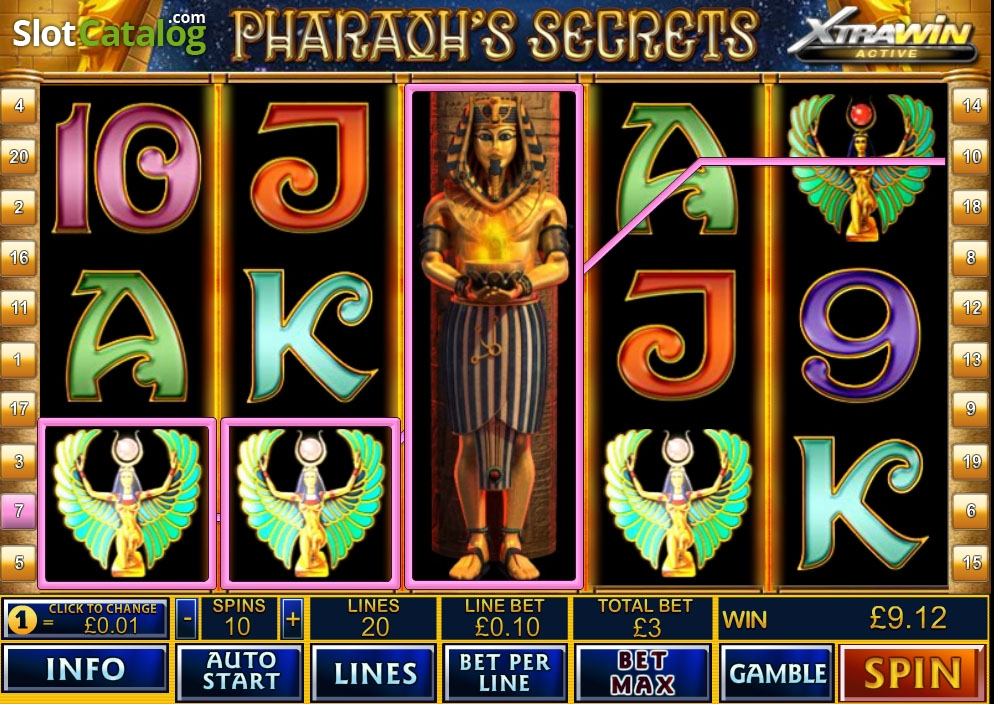 Spiele PharaohS Secrets - Video Slots Online