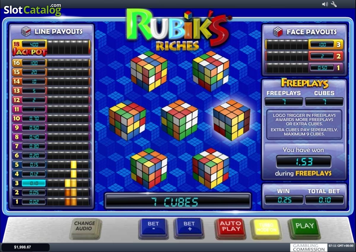 Revisi n de tragamonedas de rubik 39 s riches c digos de for Rubik espana