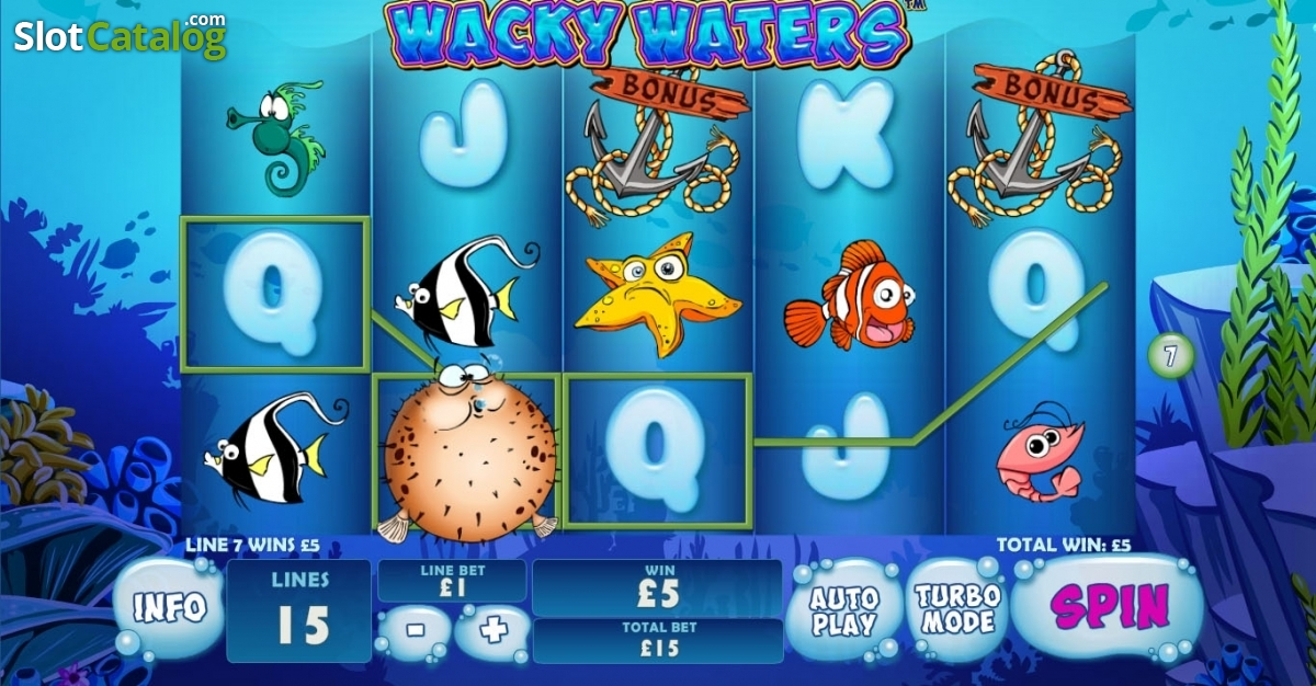 Wacky Waters Online Slot Game Review