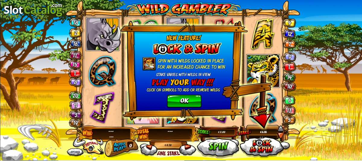 Play Wild Gambler 2 Slot at Casino.com UK