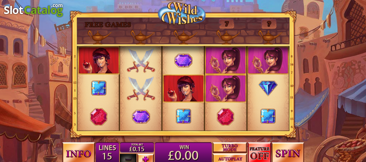 Wild Wishes slots at Casino.com South Africa